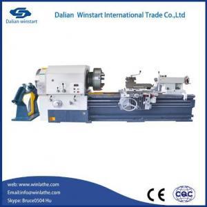 China Lathe Machine Manual Pipe Threading Lathe Machine on sale