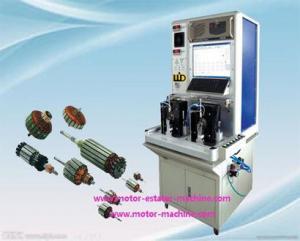China armature rotor machine WD-FZZ-028 armature testing machine on sale