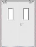 Steel fire door series YA-8039