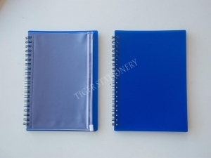 China Notebook/Diary/wire spiral notebook  PP wire notebook on sale