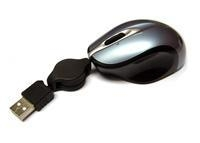 China Mice Delimer Pocket Laser Mouse with Retractable Cable on sale
