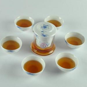 China Tea Sets Travel Tea Set- Blue&White Teaware on sale