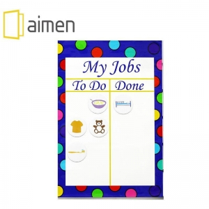 China Kids chore chart Magnet educational&Chore Chart for kids --My Job on sale