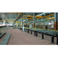 China LIGHT H-BEAM PRODUCTION LINE FOR PEB on sale