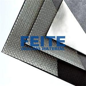 China Reinforced Graphite Sheet with Wire Mesh on sale