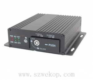 China 4CH 720P High-end Dual SD Card Mobile DVR 3G 4G GPS WIFI Max512GB on sale