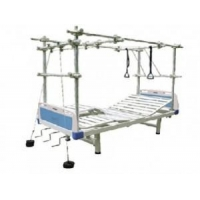 China Medical bed FB-37-1 multi-function traction bed with ABS be... on sale