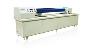 China Blue Rotary UV Laser Engraver on sale