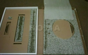 China 2.Boxed Vanity Top Carton Open Carton open on sale