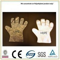 China Disposable PE gloves on sale