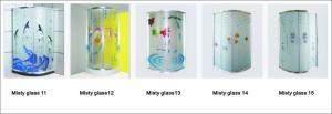 China SHOWER ENCLOSURE Misty glass 11-15 on sale