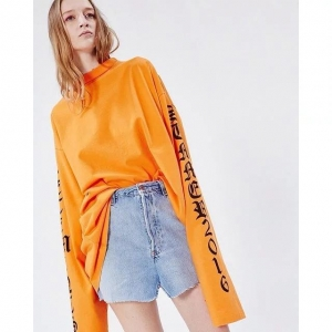 China Oversize lady blouse fashion jumper round neck shirt lady casual clothes on sale