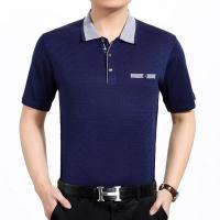 Latest fashion mens cotton polo shirt short sleeve custom sweater design