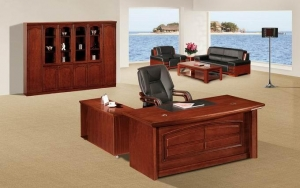 China Solid wood office desk NS-SL004 on sale