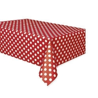 Plastic Table Cloth And Garden Christmas Party Essential Snowflake Table Cover