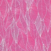 China fabric fabric fabric In The Bloom - Leaves in Pomegranate on sale