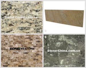 China Brazil Yellow Granite Giallo Cecilia And Kitchen Counter Tops Granite Counter Top 28 on sale