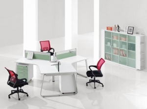 China Office Workstations 3 person office workstation/office furniture on sale