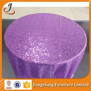 China Chair Cover And Table Cloth Round table cloth for wedding SF-ZB08 on sale