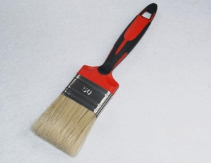 China PLASTIC HANDLE BRUSH Pure Bristle-Soft Grip Handle on sale