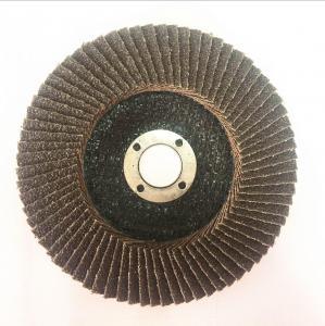 China Calcined alumina oxide flap disc on sale