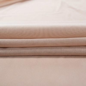 China Fabric China supplier soft clothing mesh fabric textile for sportswear underwear on sale