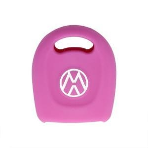 China VW Silicone Key Cover Remote blank car key shell for Volkswagen on sale
