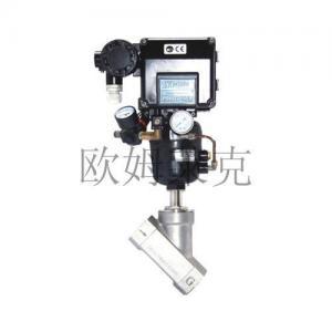 China Pneumatic Angle seat valve adjustment on sale