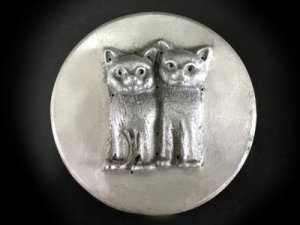 China love cats soap molds MPK-L04 Molds Themes Fauna on sale