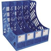 China office stationery QBF-648L4-in-1 Lever Arch File Rack on sale