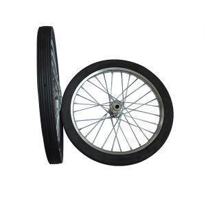China 8 Inch Plastic Spokes EVA Foam Filled Baby Pram Wheel on sale