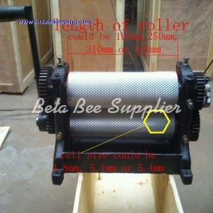 China beeswax comb foundation machine on sale