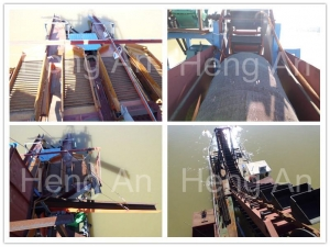 China Mining and Dredging hot sale Bucket Chain Alluvial Gold Dredger for sale on sale