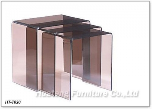 China Acrylic Nesting Table Relax Chair on sale