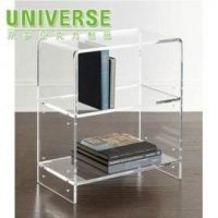 China Acrylic Sofa UNIVERSE Factory wholesale Crystal Acrylic Chairs With Cushions on sale