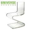 China Acrylic Chair UNIVERSE Wholesale Factory Design Pretty Modern Acrylic Chair for sale