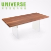 China UNIVERSE 300mm W x 200mm D x 200mm H Customized Acrylic Bridge Study Table Desk for sale