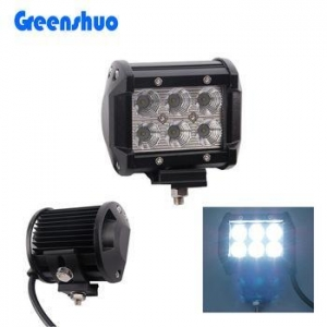 China Hot sale! motorcycle parts 4inch 18w motorcycle tractor led work light 12v led work light 4x4 on sale