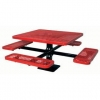 China Leisure Table Sets Name:Arlau TB118 Steel Picnic Table for sale