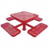 China Leisure Table Sets Name:Arlau TB112 Metal Table and Bench for sale