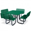China Leisure Table Sets Name:Arlau TB116 Steel Picnic Table for sale