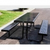 China Leisure Table Sets Name:Arlau TB108 Steel Table and Benches for sale