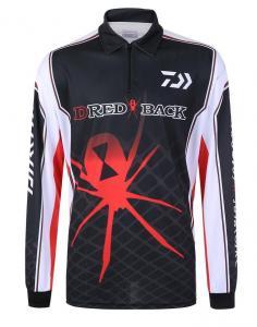 China custom racing polo shirt ,zippered polo shirt design ,sublimated long sleeves polo on sale