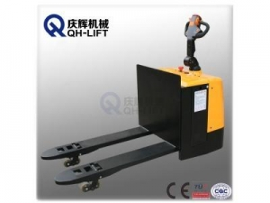 China 3000kgs Pallet Jack Battery Operated Warehouse Pallet Truck on sale