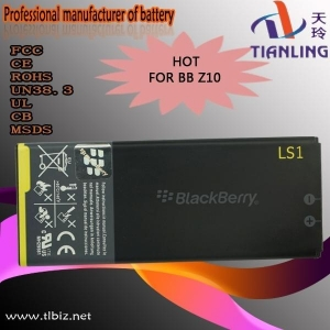 China USB stick Mobile phone battery for BlackBerry Z10 on sale
