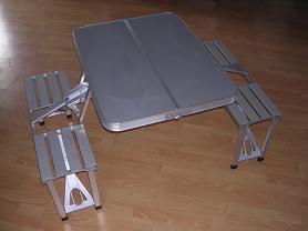 China Picnic Table Alu folding portable table on sale