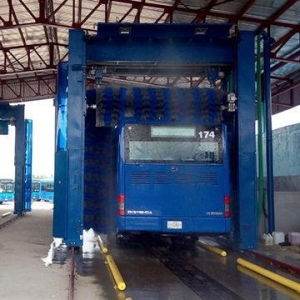 China Automatic bus and truck wash machine on sale