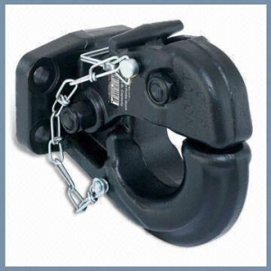China Black Painting Finish Forged Pintle Hook with 5T Towing Capacity on sale