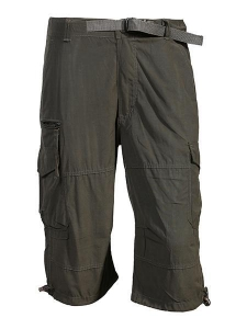 China Pants & Shorts cargo bermuda with waist belt on sale