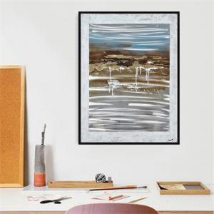 China framed art WATER FRAMED CANVAS ART on sale